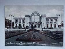 SALSOMAGGIORE TERME  Stazione Ferrovia treno vecchia cartolina