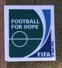 Patch FIFA FOOTBALL FOR HOPE TOPPA Confederations cup + Fifa Club World Cup