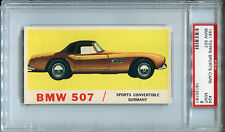 1961 Topps Sports Cars #24 BMW 507 PSA 9 MINT *Unique, 1 of 1, None Higher*