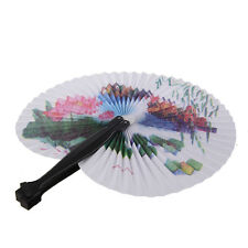 Paper Hand Fan Folding WADding Party Favor AD