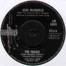 """[CHIP TAYLOR] GENE McDANIELS ~ THE PUZZLE / CRY BABY CRY ~ 1961 UK 7"""" SINGLE"""