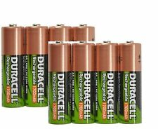 DURACELL 8 x AA 1700 mAh Rechargeable NiMH Batteries by DURACELL in FREE CASE