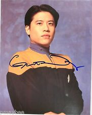 "Garrett Wang as Harry Kim in STAR TREK Voyager - Autographed 8""X10"" Post Card"