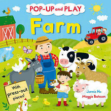 Pop-up and Play Farm: A Pop-up Gift Book! by Pan Macmillan (Novelty book, 2013)