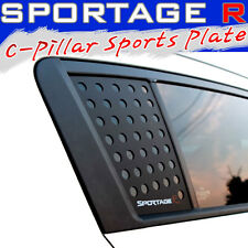 C-PILLARS MOLDING  PLATE MOULDING COVER SET 2PCS FOR 2011-15 KIA SPORTAGE