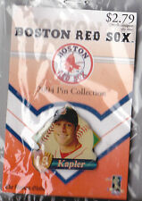 BOSTON RED SOX 2004 WORLD SERIES WINNER GLOBE PROMO PIN SERIES GABE KAPLER