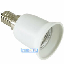 E14 Small Edison Screw SES to E27 SE Light Bulb Fitting Lamp Converter Connector
