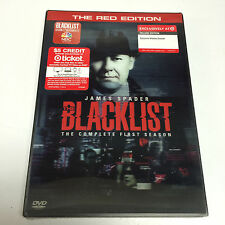 "THE BLACKLIST: The Complete First Season [TARGET-EXCL ""RED EDITION"" DVDs, 2014]"