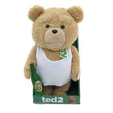 """TED 2 TANK TOP -  16"""" MOUTH MOVING ANIMATED PLUSH EXPLICIT VERSION BRAND NEW"""