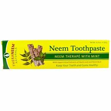 Organix South, TheraNeem Naturals, Neem Toothpaste, with Mint, 4.23 oz (120 g)
