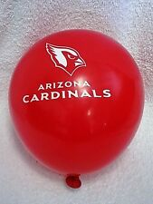 Arizona Cardinals NFL Football  BALLOONS B-DAY PARTY 12 LATEX blow up New RED