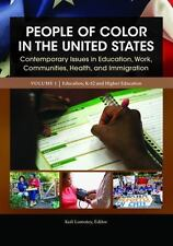 People of Color in the United States [4 Volumes]