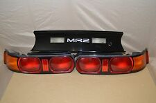 JDM TOYOTA MR-2 MR2 SW20 KOUKI REAR TAIL LIGHT SET AND CENTER GARNISH PANEL