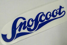Yamaha Sno-Scoot SNOW-Scoot Hood/Cowling Decal Sticker BLUE