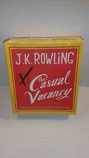 *READ* The Casual Vacancy J.K. Rowling Unabridged 15 CD Set Audiobook