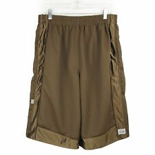ProClub Large Basketball Shorts Mesh Big and Tall Brown Long Heavy Weight
