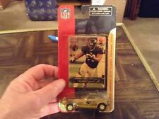 Baltimore ravens Ray Lewis fleet collectible card and car