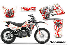 YAMAHA TTR90 CREATORX GRAPHICS KIT DECALS SAMURAI RW