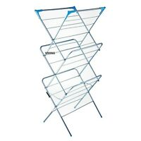 CLOTHES AIRER 3 TIER FOLDING LAUNDRY DRYER CONCERTINA INDOOR OUTDOOR HORSE TOWEL
