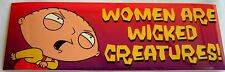 Family Guy  TV sticker Licensed Women are wicked creatures