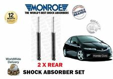 FOR HONDA CIVIC 1.4 1.8 2.0TD CDTI 2006--  NEW 2X REAR SHOCK ABSORBER SETSET