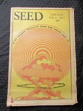 1974 CHICAGO SEED Underground Counterculture Newspaper VG v.8 #7