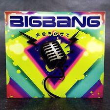 Bigbang Koe O Kikasete CD & DVD Mini Album 2009 Hard To Find Album K-Pop