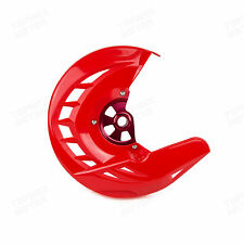 Red Front Brake Disc Rotor Cover Guard Honda CRF250R 250X CRF450R CRF450X 04-15