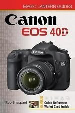Magic Lantern Guides: Canon EOS 40D-ExLibrary