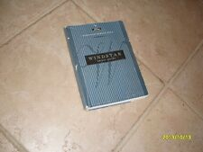 1995 Ford Windstar Owners Manual Owner's Guide Book Original
