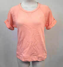 Obey Women's SS Knit Top Echo Mountain Peach Size XS NWT Shepard Fairey