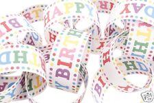 Polka Dot Feliz Cumpleaños Decoración de cadena de papel empavesado Guirnalda 10 M 200 enlaces