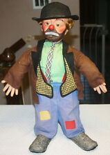 """Baby Barry Toy Co 1950s Weary Willie the Clown Emmett Kelly Character Doll 21"""""""