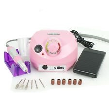 30,000 RPM Electric Nail Art Drill File Grinding Bits Machine Manicure Tool Kit