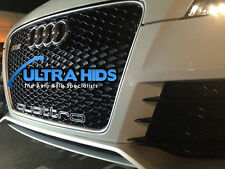 XB AUDI QUATTRO GRILLE BADGE BUMPER RS3 RS4 RS6 RS7 S3 S4 S5 S6 S7 A3 A4 A5 A6