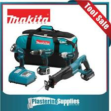 Makita LXT407 18-Volt LXT Lithium-Ion Cordless 4-Piece Combo Kit BJR182 LXDT04