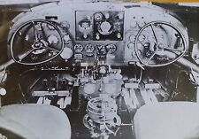 Douglas DC-2 Airplane/Airliner Cockpit Controls, Magic Lantern Glass Photo Slide