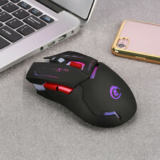 Adjustable 2400DPI 2.4Ghz Optical Wireless Gaming Mice Mouse For Laptop PC