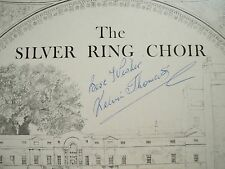 The Silver Ring Choir Of Bath - Hand Signed by Conductor Kelvin Thomas SRCV0001
