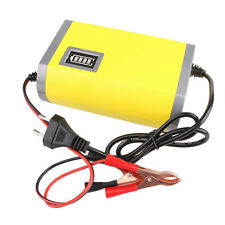 12V 6A Motorcycle Car Auto Battery Charger Intelligent Charging Machine EU plug