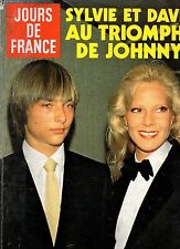 JOURS DE FRANCE N°1449 sylvie vartan line renaud clio goldsmith