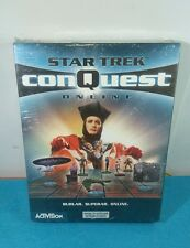 JUEGO COMPLETO PC CD-ROM CAJA GRANDE CASTELLANO - STAR TREK CONQUEST ONLINE