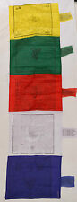 Tibetan Buddhist Vertical Cotton Prayer Flag Wind Horse Fair Trade Nepal