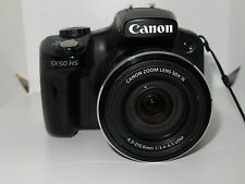 Canon PowerShot SX50 HS 12.1MP Digital Camera - Black +8gb