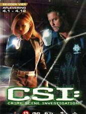 3 DVD box - CSI LAS VEGAS season 4 - PART 1 ( 4.1- 4.12 ) R2 europe ENGLISH / NL