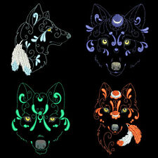 WONDERFUL WOLVES - 30 MACHINE EMBROIDERY DESIGNS (AZEB)