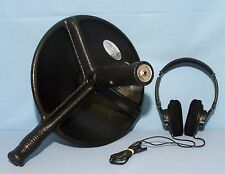 BIONIC EAR Sound Amplifier w/ PARABOLIC DISH Booster Microphone Listening Device