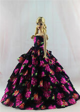 Fashion Princess Party Dress/Wedding Clothes/Gown For Barbie Doll H11