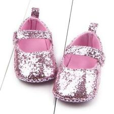 Newborn to 18 M Infant Toddler Baby Girl Soft Sole Crib Shoes Prewalker Sneakers
