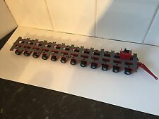 Corgi Heavy Haulage Red 12 Row Drawbar